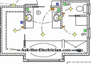 Bathroom electrical wiring for Bathroom wiring diagram