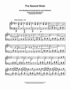 The Second Waltz Sheet Music By Dmitrij Shostakovich