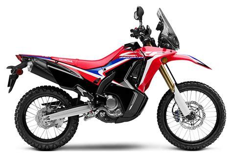 red honda crfl rally abs motorcycles  bessemer