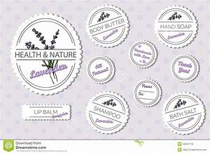 set of labels for natural bath body products with stock With bath and body labels templates