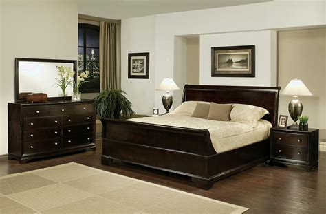 5piece Sleigh Queensize Bedroom Set Ojcommerce