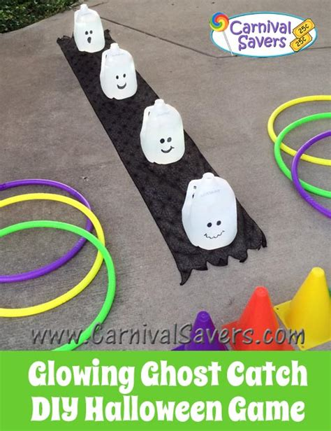 Sidewalk Christmas Lights by Diy Halloween Game Glowing Ghost