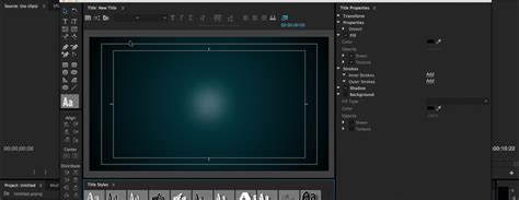 Title Templates Premier by How To Create And Share Title Templates In Premiere Pro