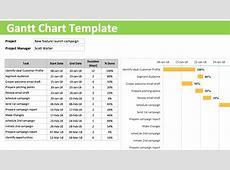 Gantt Chart Template Gantt Chart Free Excel Template