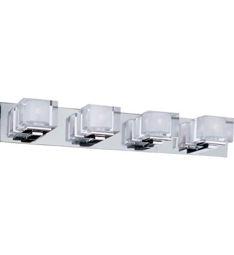 polished chrome desk accessories maxim lighting 10004clpc cubic polished chrome 4 light