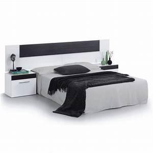Lit Avec Chevet Intégré Conforama : tete de lit avec chevet lit chambre adulte tete de lit ~ Teatrodelosmanantiales.com Idées de Décoration