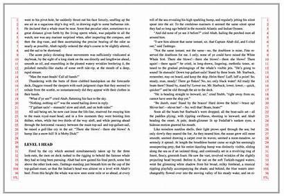 Text Pagination Latin Head Line Layout W3c