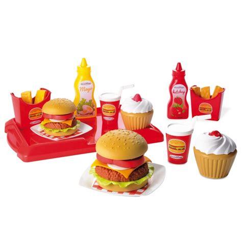 cuisine mcdo jouet dînette cuisine 100 chef hamburger jeux et jouets