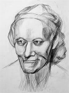 Kunst Zeichnungen Bleistift : bild kopf zeichnen grafik linie zeichnung von maxim grau bei kunstnet ~ Yasmunasinghe.com Haus und Dekorationen