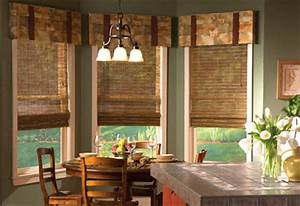 kitchen curtains smart window treatment ideas With kitchen bay window coverings
