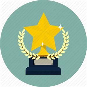 Award, laurel, prize, star, team, trophy, winner icon ...