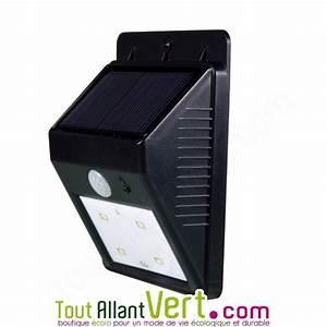 Spot Solaire Extérieur : eclairage jardin solaire detecteur ~ Melissatoandfro.com Idées de Décoration