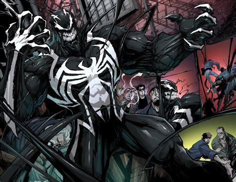 venom debuts  costume  upcoming comic series ign