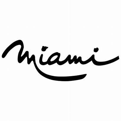 Miami Logos Svg Transparent Vector