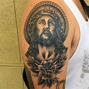 Jesus Tattoo Images & Designs