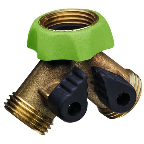 kitchen faucet splitter padula pro series deluxe brass hose adapter faucet y