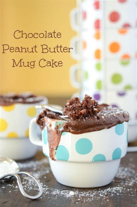 chocolate peanut butter mug cake  novice chef