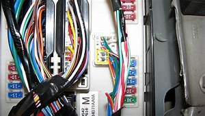 2007 Nissan Altima Fuse Box