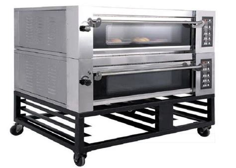 oven deck steam bakery electric double gas trays baking four stone china szczegoy produktu