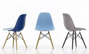 Stuhl Panton Chair : vitra stuhl eames plastic chair gruppe 3 blau braun ~ Markanthonyermac.com Haus und Dekorationen