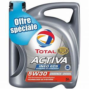 Huile De Moteur Diesel : huile moteur total activa ineo ecs 5w30 essence diesel 5l feu vert ~ Melissatoandfro.com Idées de Décoration