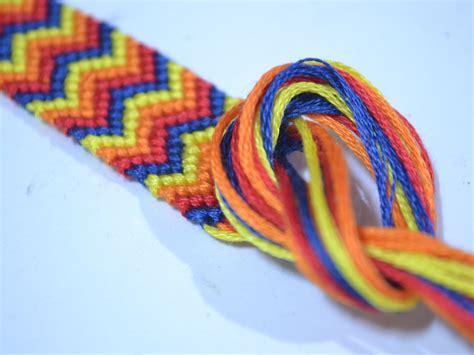 How To Make Friendship Bracelets Chevron Instructions How