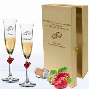 Sektgläser Hochzeit Gravur : sektgl ser mit gravur geschenkset hochzeit geschenkplanet ~ Sanjose-hotels-ca.com Haus und Dekorationen