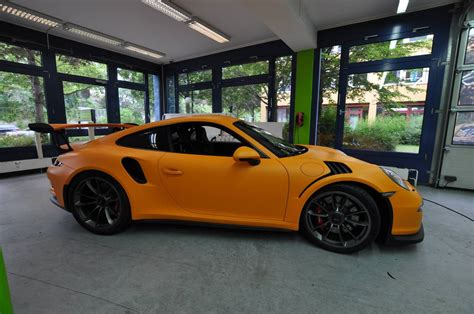 porsche gt3 rs wrap 2016 porsche 911 gt3 rs wrapped in racing orange matt