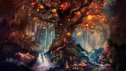 Fantasy 4k Forest Artwork Wallpapers Resolution Backgrounds