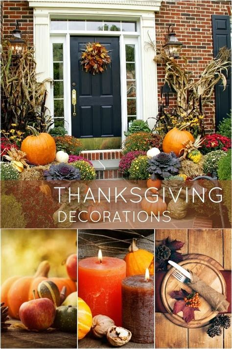 easy thanksgiving decorations   home