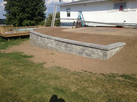 interlocking block retaining wall prices outdoor versa lok prices versa lok interlocking retaining home pinterest concrete