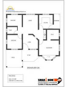 single level floor plans single floor house plan and elevation 1320 sq ft home appliance