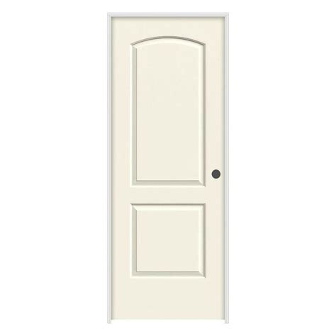 prehung interior doors jeld wen 36 in x 80 in molded smooth 2 panel arch