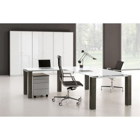 bureau de direction blanc bureau de direction jet finition verre blanc bralco