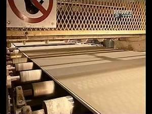 Plaque De Platre : fabrication des plaques de platre youtube ~ Melissatoandfro.com Idées de Décoration
