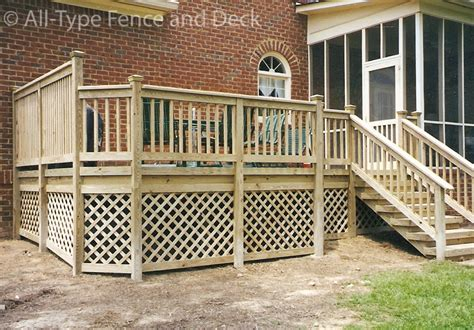 deck skirting ideas lattice beautiful decks your design or ours