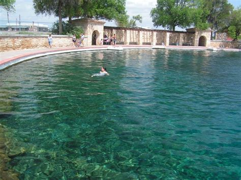 Balmorhea State Park Has The Largest Spring Fed Pool In