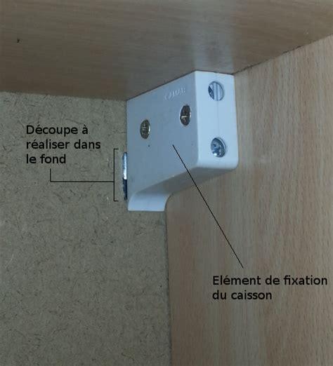 comment accrocher un meuble de cuisine au mur comment fixer un panier de basket mur maison design
