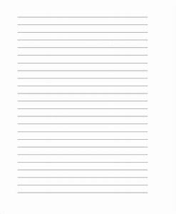 25 free lined paper templates free premium templates With lined letter writing stationery