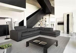 Italienisches Design Sofaprogramm Ledersofa Symphony