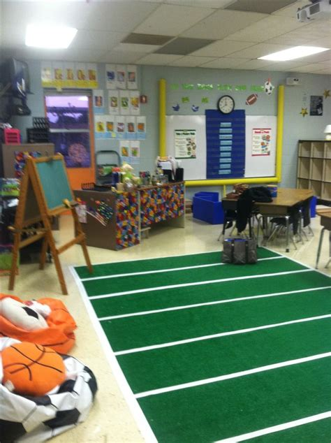 sports themed classroom   schoolmanagement