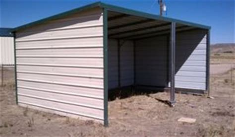 Loafing Shed Kits Oklahoma by Metal Loafing Sheds