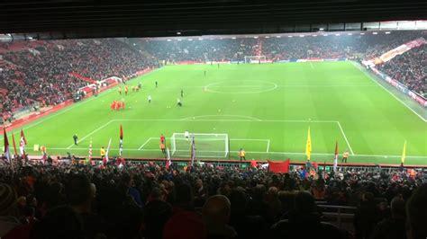 The Kop sings Bob Marley | Anfield | Liverpool FC vs ...