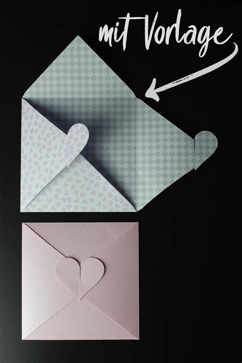 kuvert mit herz zur hochzeit bastelvorlage