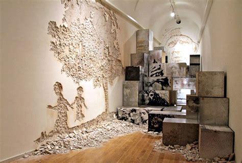 museum  ruins art exhibition interiorzine