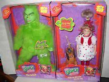 pop up talking grinch lou doll ebay