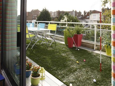 Aménager Une Terrasse Sur Un Balcon