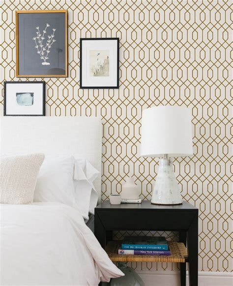 Geometric Wallpaper - Peel and Stick