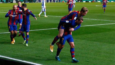 Real Sociedad vs. Barcelona - Football Match Summary ...