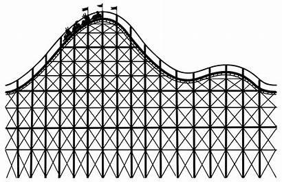 Roller Coaster Clip Line Svg Onlinelabels